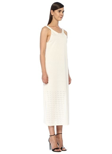 Scenario Elbise Beyaz